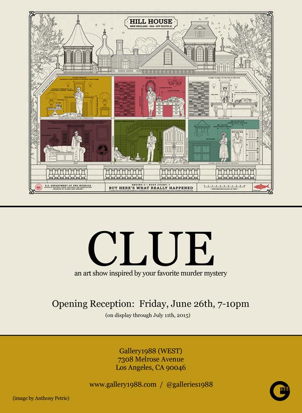 CLUE_Evite